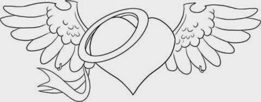 Dibujos Para Colorear Del Dia De Los Enamorados: 58 Imágenes Del 14 De Febrero Para Dibujar