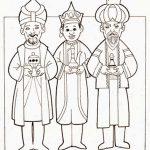 Los Reyes Magos Melchos Gaspar y Balta