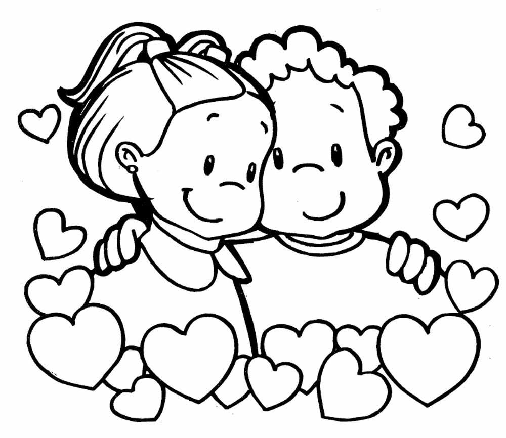 58 Imágenes del 14 de febrero para dibujar - Dibujo para Imprimir