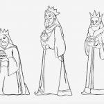 Tres reyes Magos entregando el oro incie