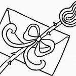 carta de amor y rosa flor para regalar en