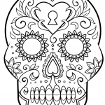 drawing-of-skulls-mexican-for-coloring-day-of-the-dead