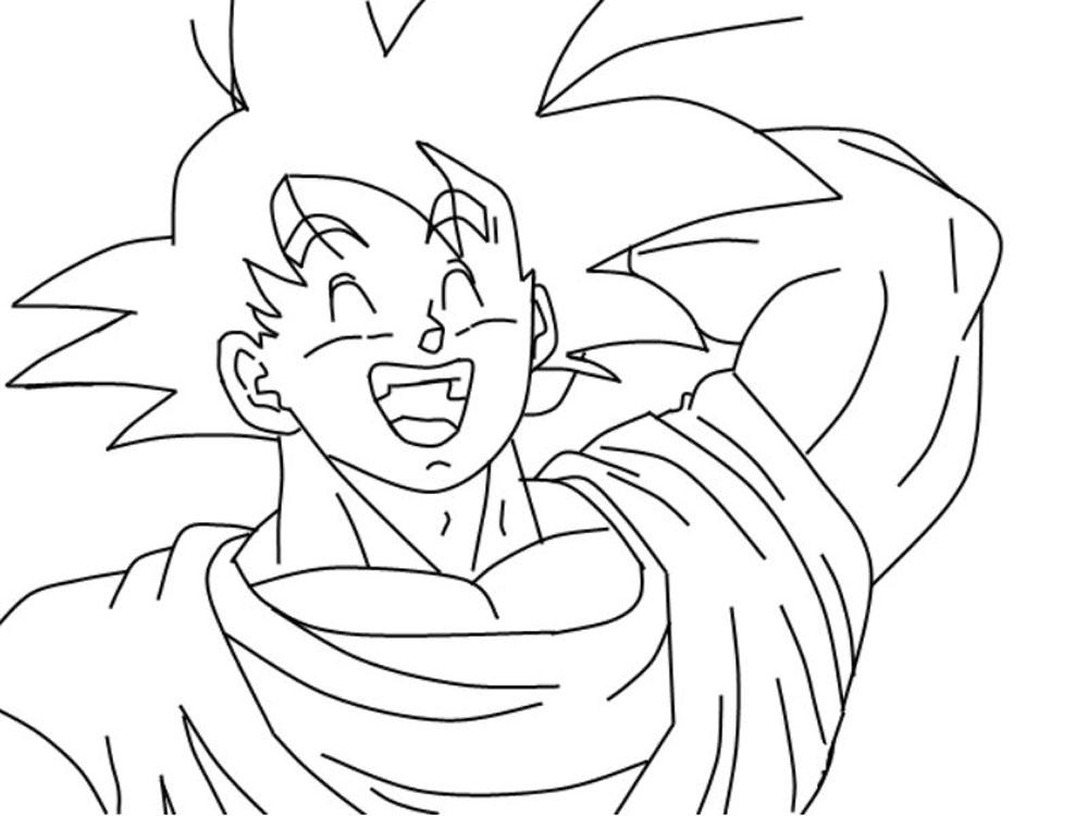 Dibujos De Superman Para Colorear Pintar E Imprimir Gratis: 50 Imágenes De Goku Para Dibujar