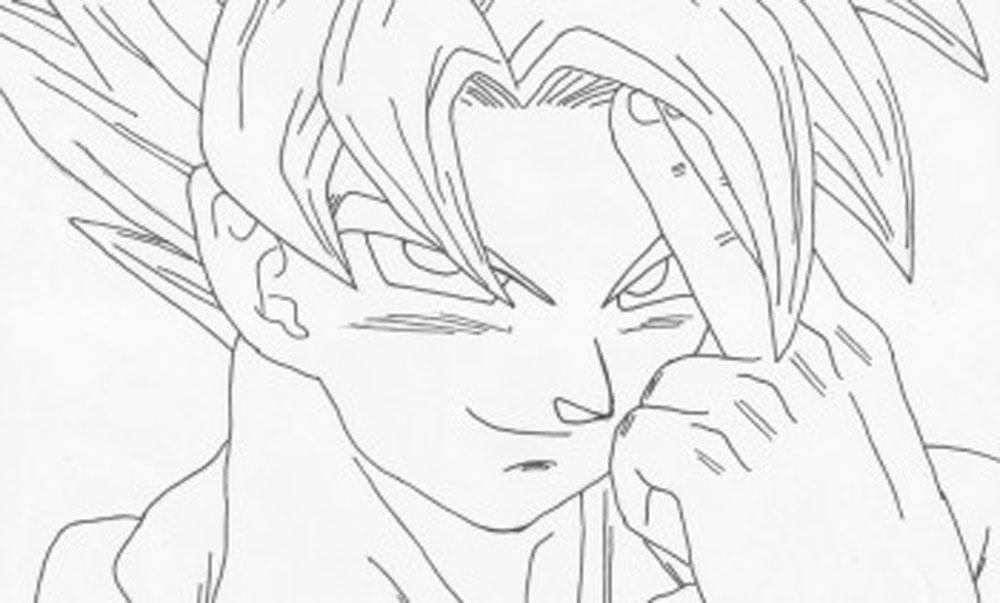 Todas Las Fases De Goku Para Colorear: 50 Imágenes De Goku Para Dibujar