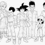 Imagen de Goku adulto con los guerrero