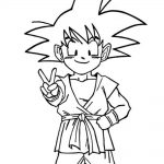 Imagen de Goku dragon ball GT niño pra