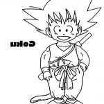 Imagen de Goku niño para imprimir reco