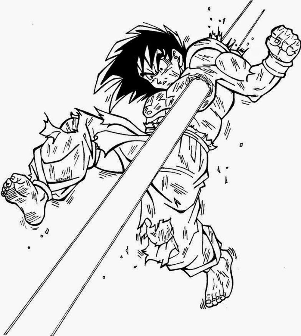 50 Imágenes De Goku Para Dibujar