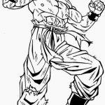 Imagen para dibujar de Goku en modo s