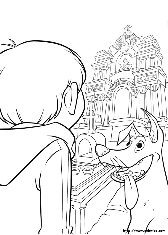 imagen de dante y miguel entrando al templo de ernesto pelicula de ...
