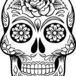 Imagenes de calaveras mexicanas para imprimir y colorear