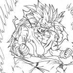 Son Goku fase 3 a fase 4 para iluminar y