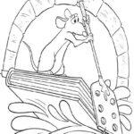 Dibuja para Imprimir dibujar colorear Ratatoille Remy