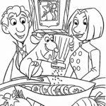 Dibujo para Imprimir dibujar colorear Ratatoille Remy Alfredo Lingüini Colette Tatou