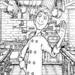 Dibujo para Imprimir Dibujar Colorear Ratatoille Alfredo Lingüini