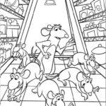 Dibujo para Imprimir Dibujar Colorear Ratatoille Remy Familia