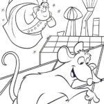 Dibujo para Imprimir Colorear Dibujar Ratatoille Remy Auguste Gusteau