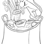 Dibujo para Imprimir Dibujar Colorear Ratatoille Remy