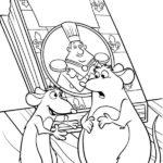 Dibujo para imprimir dibujar colorear Ratatoille Remy Emile