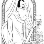 Dibujo para Imprimir dibujar colorear Ratatoille Anton Ego